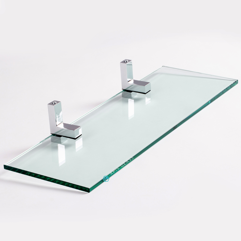 """China Clear 3/8"""" Thickness Tempered Rectangle Glass Wall ..."""