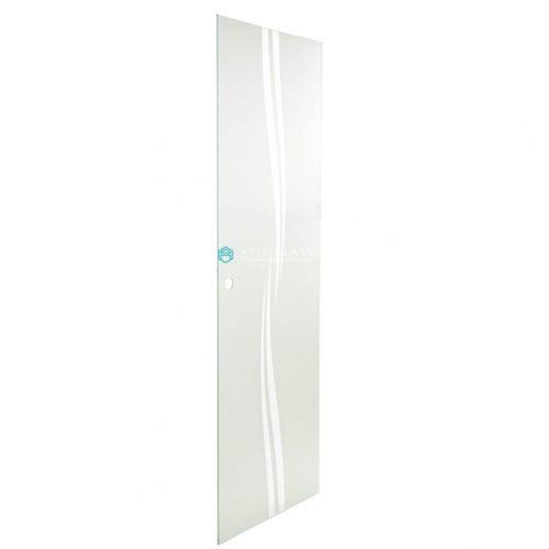 China ceramic Printed sliding shower tempered glass panels wholesale