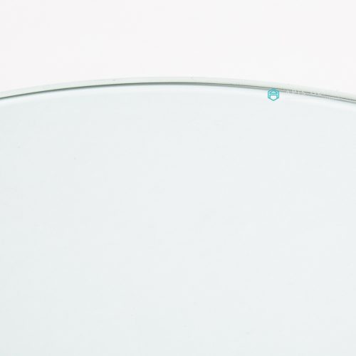 China Round Flat Polished Edge Tempered Glass Table Top Protector Wholesale